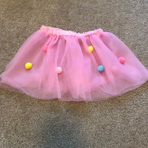Other - Pink Pom Pom Tutu - 2T